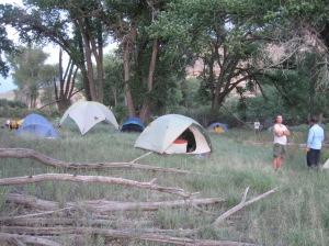 Gunnison River Camp 1