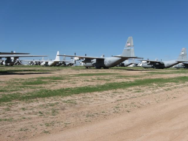 Acres of C-130s