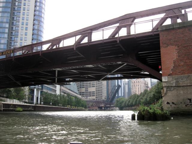 Bridges over the Chicago River